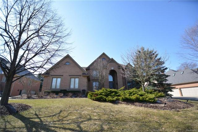 17706 Stonebrook Drive, Northville Twp, MI 48168 (MLS #217111965) :: The Toth Team