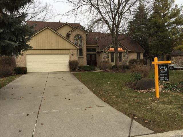 37842 Glengrove Drive, Farmington Hills, MI 48331 (MLS #218021270) :: The Toth Team