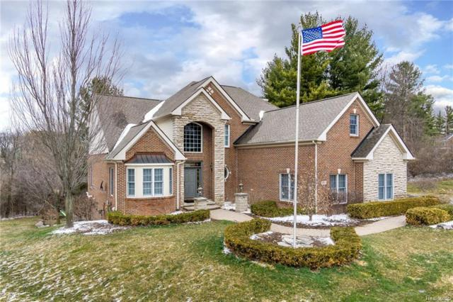 307 Valley View Drive, Oxford Twp, MI 48371 (MLS #218031983) :: The Toth Team