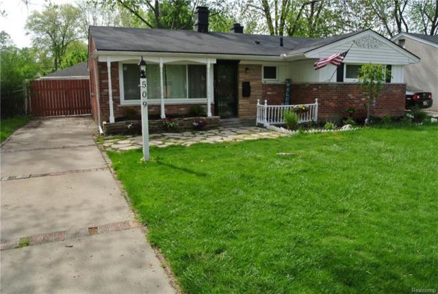 509 Essex Street, Clawson, MI 48017 (#218042169) :: Duneske Real Estate Advisors