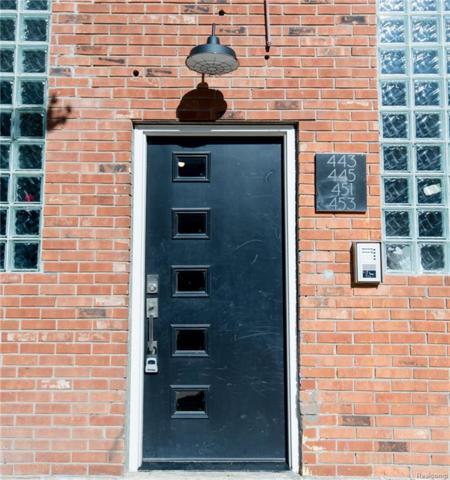 445 E Milwaukee Street #2, Detroit, MI 48202 (#218047576) :: The Buckley Jolley Real Estate Team