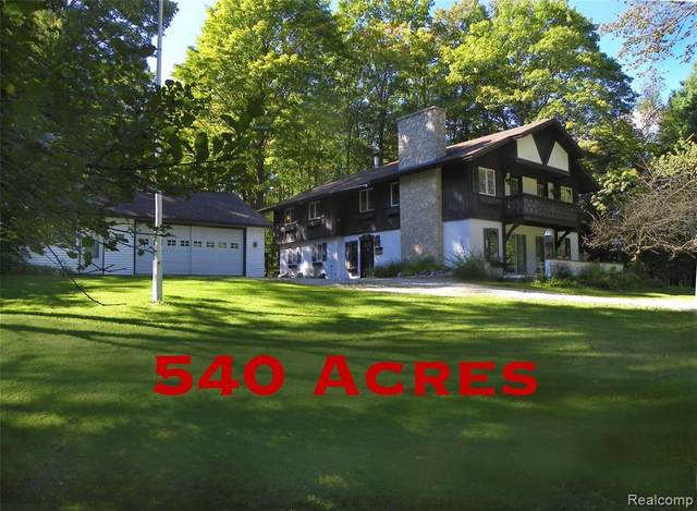 2110 Sawyer Road, Dover Twp, MI 49735 (#218051502) :: Real Estate For A CAUSE