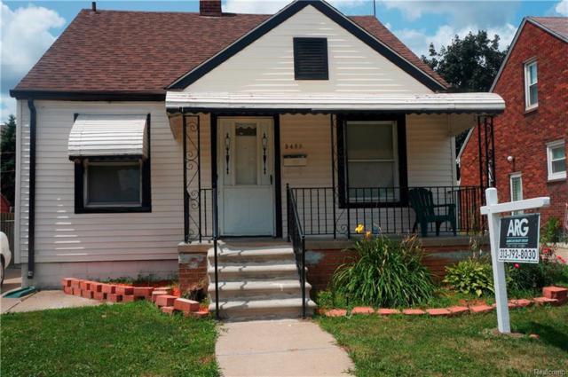 5485 Mead Street, Dearborn, MI 48126 (#218064535) :: RE/MAX Classic