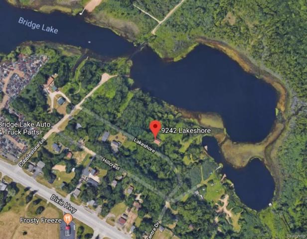 009 Lot Lakeshore, Springfield Twp, MI 48348 (#218082075) :: The Buckley Jolley Real Estate Team