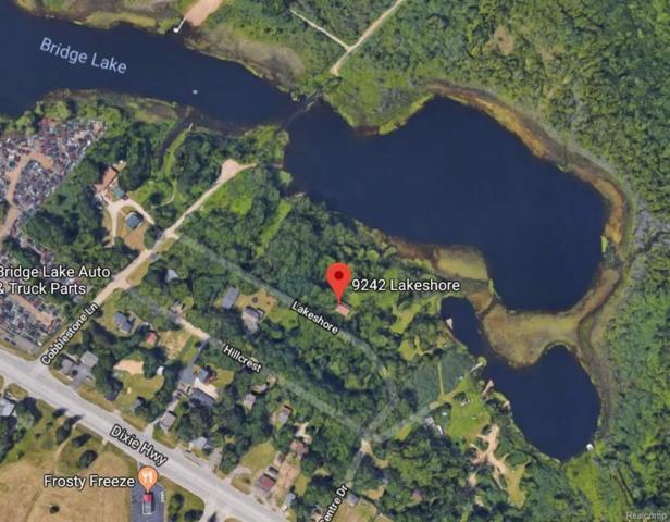 9242 Lakeshore, Springfield Twp, MI 48348 (#218082123) :: The Buckley Jolley Real Estate Team