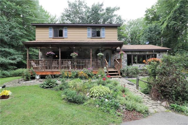 19176 Taylor Lake Road, Rose Twp, MI 48442 (MLS #218086655) :: The Toth Team