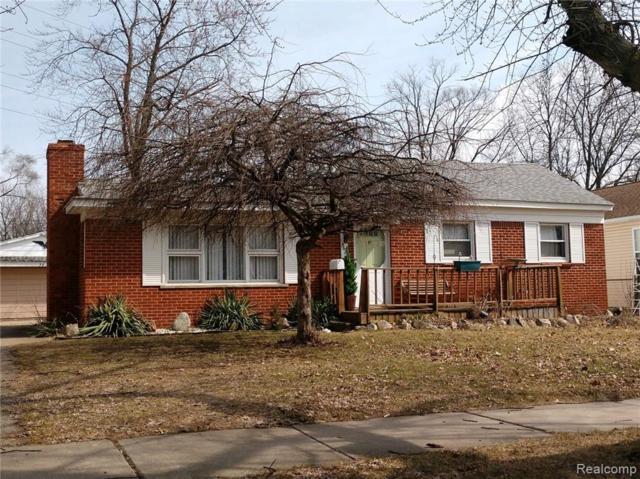 3620 Benjamin Avenue, Royal Oak, MI 48073 (#219015485) :: Keller Williams West Bloomfield