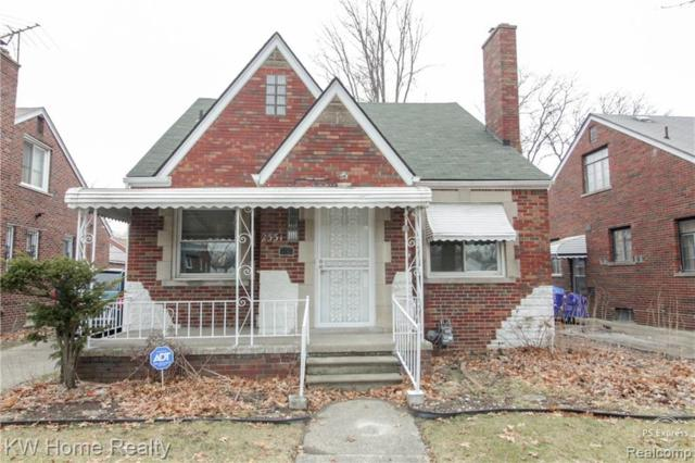 2331 E Outer Drive, Detroit, MI 48234 (MLS #219019070) :: The Toth Team