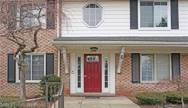 225 E Square Lake Road #6, Bloomfield Twp, MI 48302 (#219021534) :: The Alex Nugent Team | Real Estate One