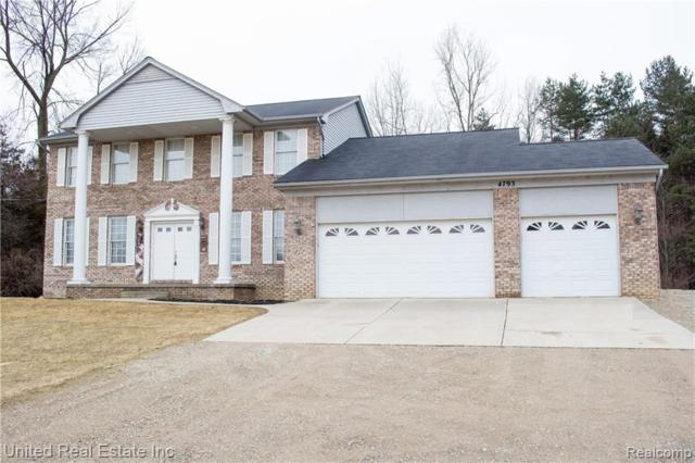 4793 Whipple Lake Road, Independence Twp, MI 48348 (#219024212) :: RE/MAX Classic