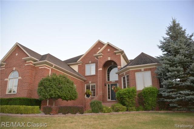 6372 Adams Drive, Washington Twp, MI 48094 (#219024230) :: The Alex Nugent Team | Real Estate One
