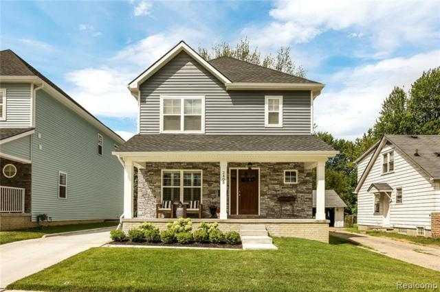 3991 Ellwood Avenue, Berkley, MI 48072 (#219028935) :: The Buckley Jolley Real Estate Team