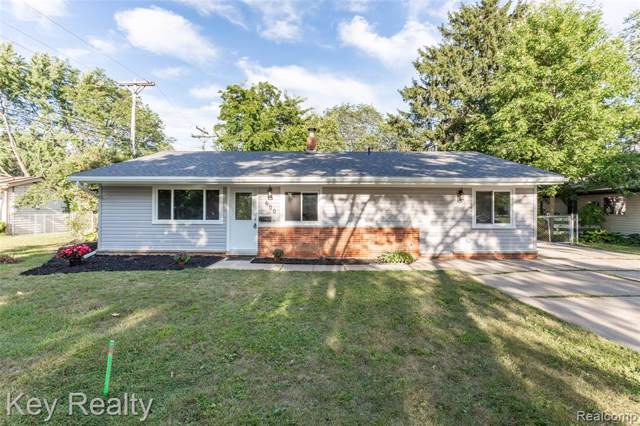 600 Parkview Drive, Plymouth, MI 48170 (#219088550) :: The Buckley Jolley Real Estate Team