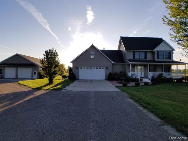4815 Shoemaker Rd, Almont Twp, MI 48003 (MLS #219090041) :: The John Wentworth Group