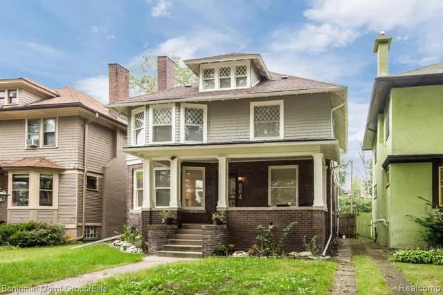864 Longfellow, Detroit, MI 48202 (#219095083) :: RE/MAX Classic