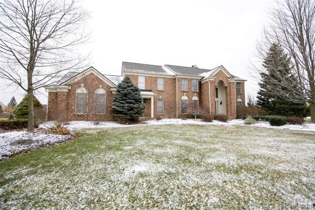 9760 Fellows Hill Court, Plymouth Twp, MI 48170 (#2200002796) :: Duneske Real Estate Advisors