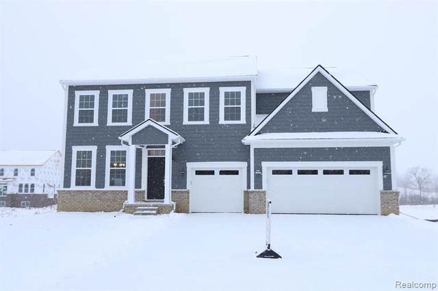 53212 Weeping Willow Court, Lyon Twp, MI 48178 (#2200003110) :: The Mulvihill Group