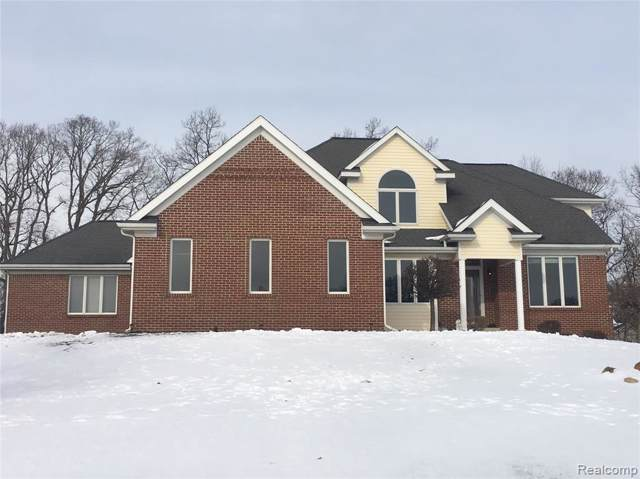 8383 Thorn Hill Dr Drive, Hartland Twp, MI 48843 (#2200006186) :: The Mulvihill Group