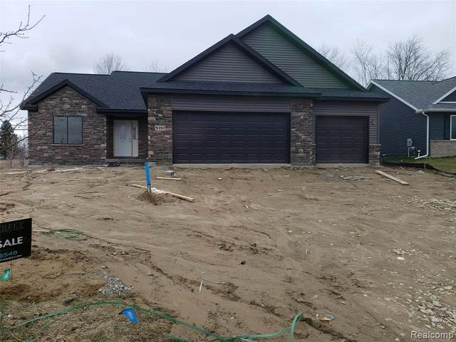 9397 Hickory Hollow Court, Richfield Twp, MI 48423 (#2200022802) :: The Merrie Johnson Team