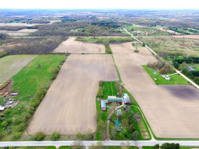 2387 W Cohoctah Road, Cohoctah Twp, MI 48855 (#2200029559) :: Alan Brown Group