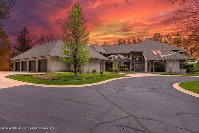 6400 Pine Hollow Drive, Meridian Charter Twp, MI 48823 (MLS #630000246057) :: The John Wentworth Group