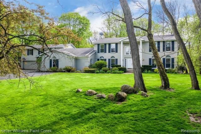 1501 Surria Court, Bloomfield Hills, MI 48304 (#2200049636) :: Duneske Real Estate Advisors