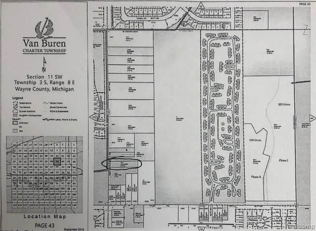 Vacant Morton Taylor Road, Van Buren Twp, MI 48111 (MLS #2200052450) :: The John Wentworth Group