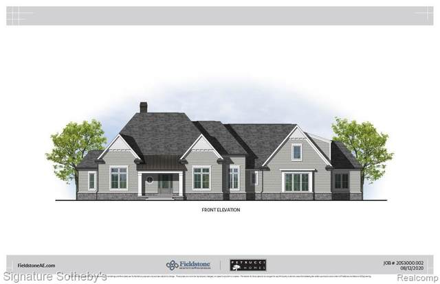 2681 Turtle Shores Drive, Bloomfield Twp, MI 48302 (MLS #2200084214) :: The Toth Team