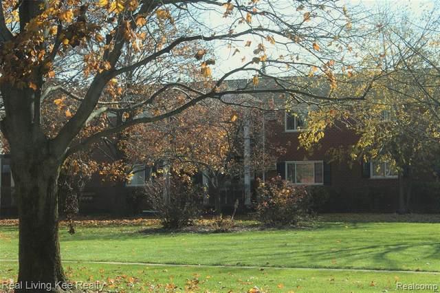 1105 Tienken Ct Apt 110 #110, Rochester Hills, MI 48306 (#2200092812) :: The Mulvihill Group