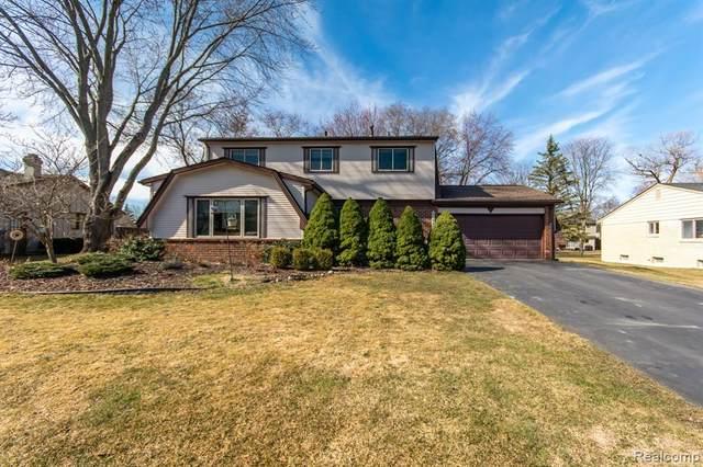 22655 Heatherbrae Way, Novi, MI 48375 (#2210016239) :: Duneske Real Estate Advisors