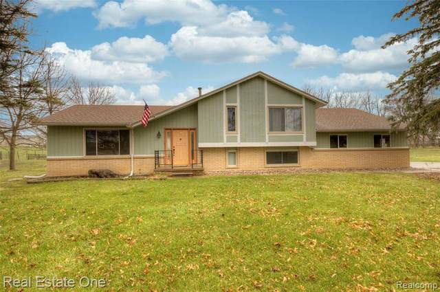 2400 Patterson Lake Road, Putnam Twp, MI 48169 (#2210022774) :: Robert E Smith Realty