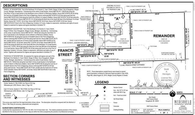 648-A Francis Street, Saugatuck, MI 49453 (#65021011080) :: Keller Williams West Bloomfield