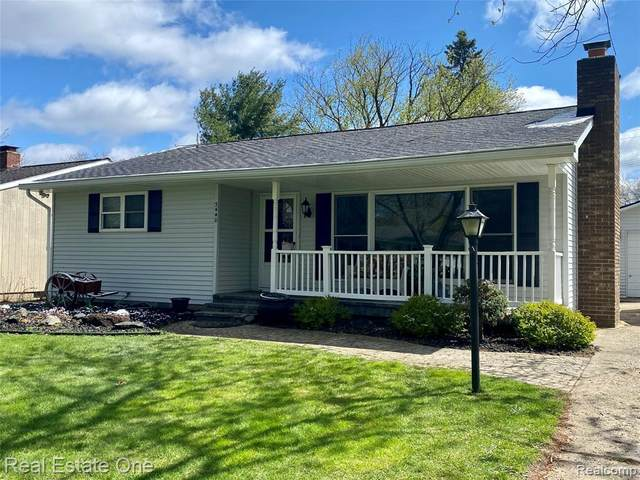 3440 Gadd Court, Highland Twp, MI 48356 (#2210025442) :: Real Estate For A CAUSE