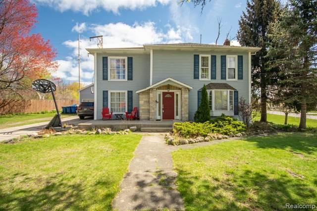 115 S Ann Street, Fenton, MI 48430 (#2210028631) :: Real Estate For A CAUSE