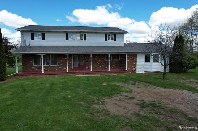 11485 E Prior Road, Vernon Twp, MI 48436 (#2210028703) :: Real Estate For A CAUSE