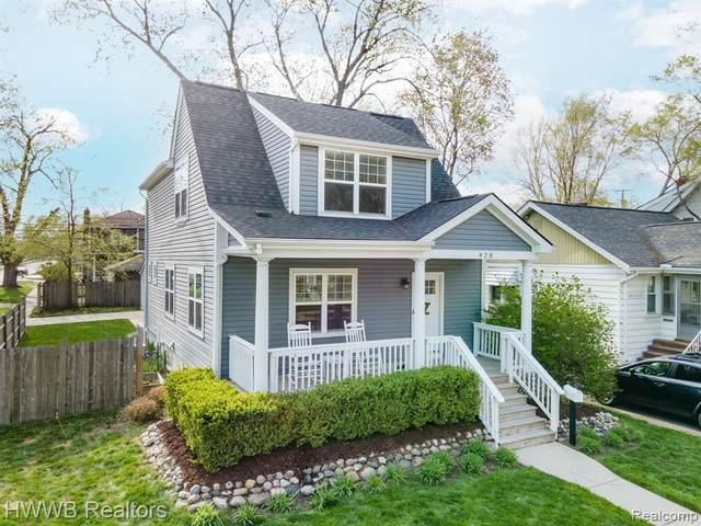 920 Mohawk Avenue, Royal Oak, MI 48067 (#2210029729) :: Keller Williams West Bloomfield