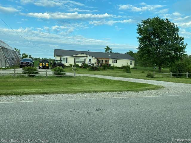 8525 Todd Road, Fremont Twp, MI 48097 (#2210045804) :: Real Estate For A CAUSE