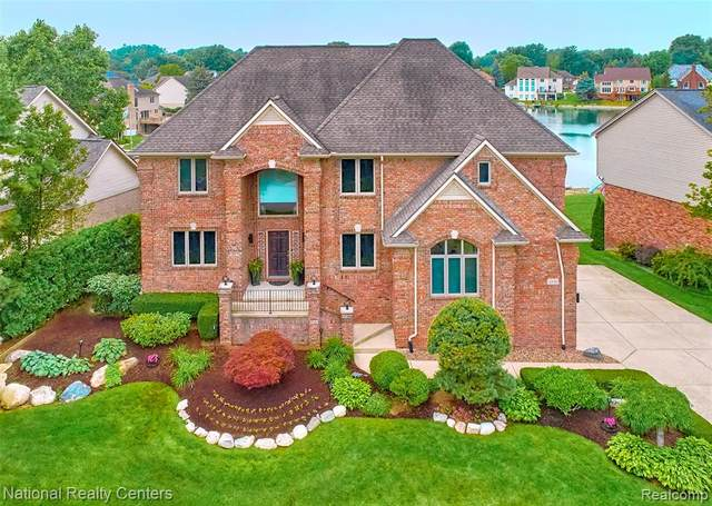 49089 White Mill Dr. Drive, Shelby Twp, MI 48317 (#2210059903) :: GK Real Estate Team