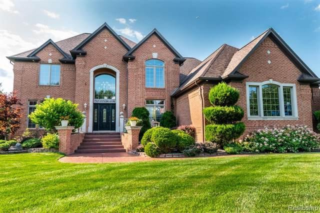 57629 Stonebriar Drive, Washington Twp, MI 48094 (#2210060300) :: The Alex Nugent Team | Real Estate One