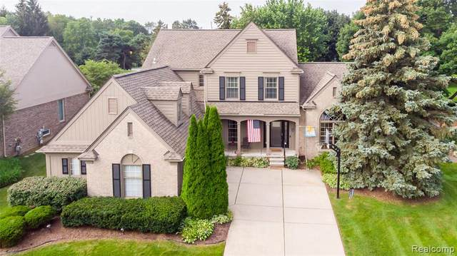 42913 Ashbury Drive, Novi, MI 48375 (#2210065189) :: Duneske Real Estate Advisors