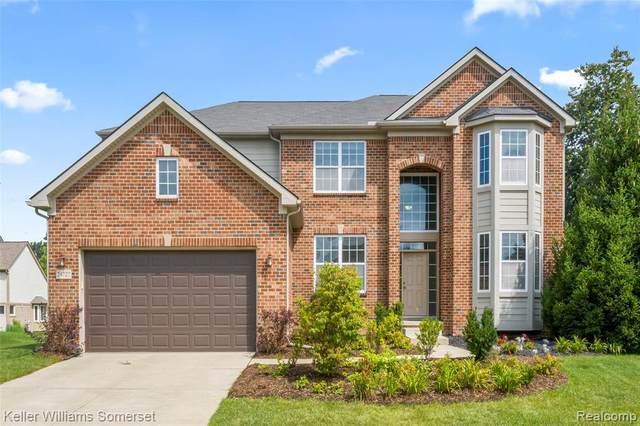 24727 Thatcher Drive, Novi, MI 48375 (#2210065528) :: Duneske Real Estate Advisors