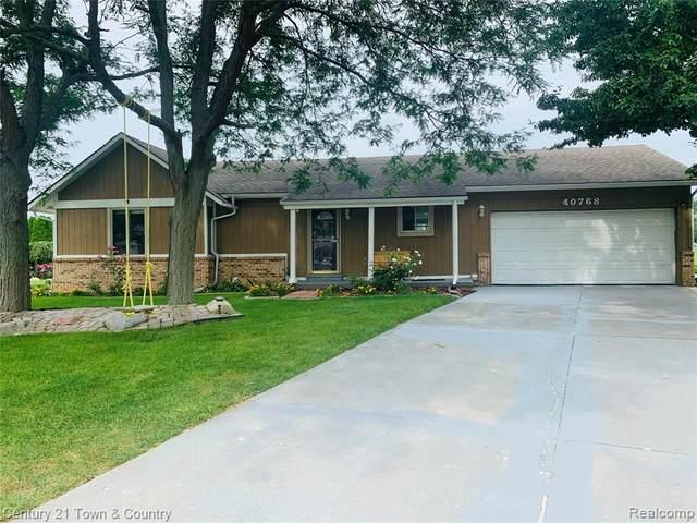 40768 Mill Road Court W, Novi, MI 48375 (#2210067016) :: Duneske Real Estate Advisors
