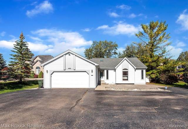 462 South Blvd W, Rochester Hills, MI 48307 (#2210088157) :: RE/MAX Nexus