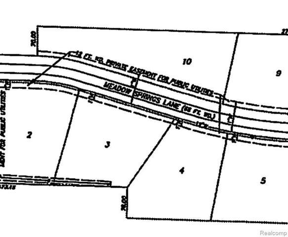 8590 Meadow Springs, Sumpter Twp, MI 48111 (MLS #216112438) :: The Toth Team