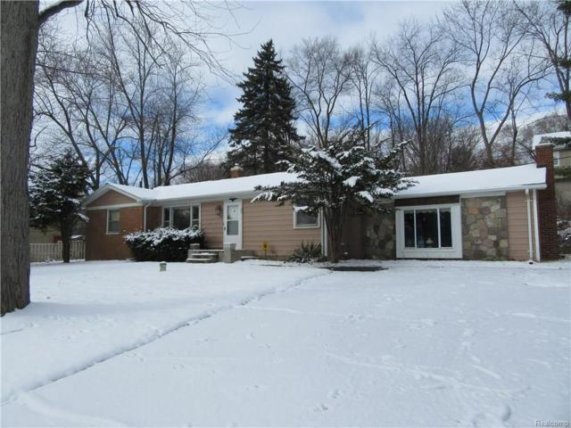 6620 Dandison Boulevard, West Bloomfield Twp, MI 48324 (#218005749) :: RE/MAX Classic