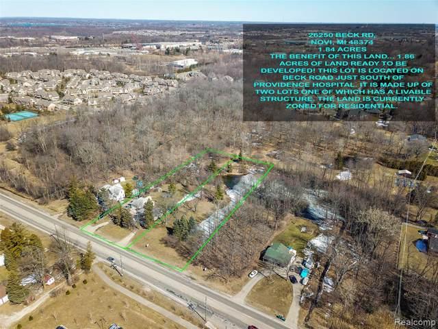 26230 Beck Road, Novi, MI 48374 (#218022472) :: Duneske Real Estate Advisors
