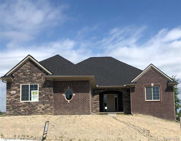 442 Overlook Drive, Oxford Twp, MI 48371 (#219032134) :: The Buckley Jolley Real Estate Team