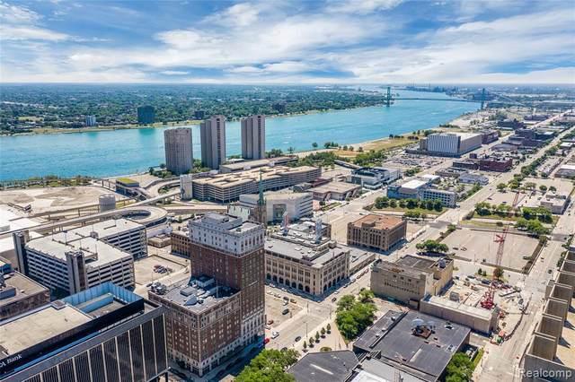 525 W Lafayette Boulevard 21E, Detroit, MI 48226 (#219119835) :: The Alex Nugent Team | Real Estate One