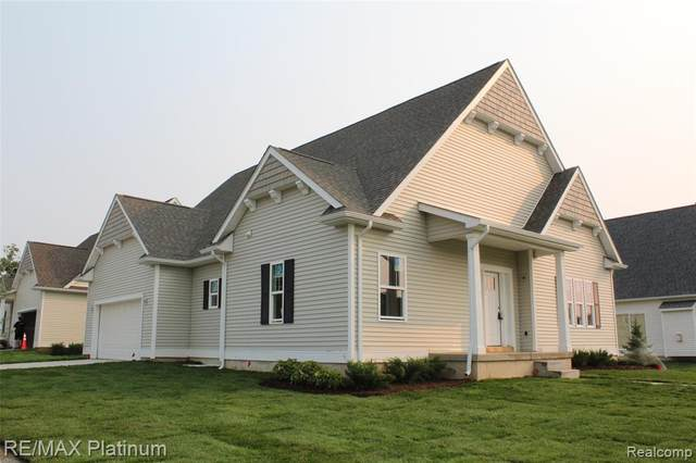 385 Dorchester Drive #21, Howell, MI 48855 (#2200013236) :: The Mulvihill Group