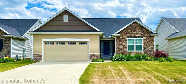 3549 Summer Breeze Drive #2, Bedford Twp, MI 48144 (#2200015998) :: Alan Brown Group
